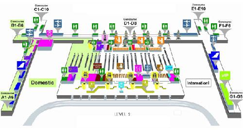 2 этаж аэропорта Суварнабуми